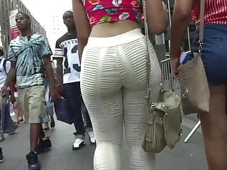 Pretty pretty pretty massive ass strolling see tru pants