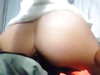 Sexy petite young slut fucks dildo...