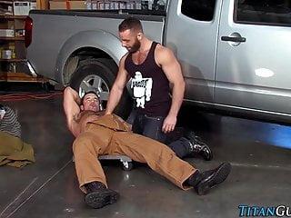 Buff mechanic bears pound...