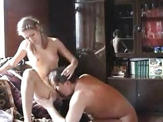 ! Daughter Gives Dad HYE Her Lovely Pussy