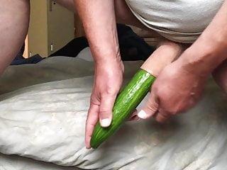 Standing foreskin cucumber...