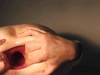 The best of five years gaping asshole Part 4 big gape show