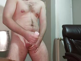 Moanings and a big cumshot...