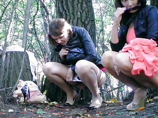 Teen Outdoor Milf video: Hot Girls Pissing Outside