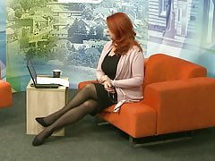 Lady with long legs in TV show 11