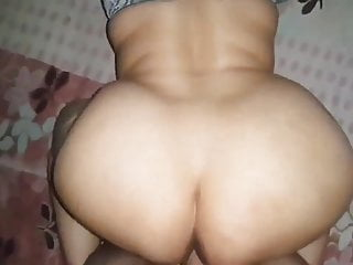 Ass bbw desi indian aunty fucked in doggy...