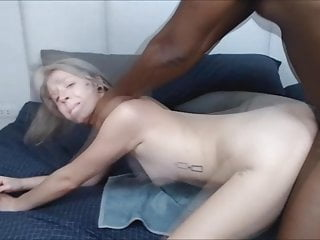 White Chick Gets Fucked By a Big Black Cock