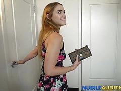 Teen Babe Is Here To Suck Cock And Take It Doggy In Casting