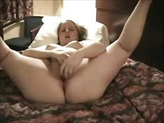 Horny Fat Chubby Teen can't stop masturbating her Pussy