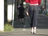 tv tights walk public