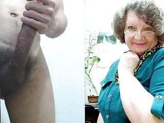 Mature Granny Heavy Hangers Cute