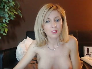Skinny blonde milf buzzed by amp lovens...