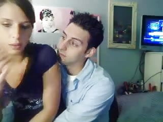 lovers fuck in front of cam