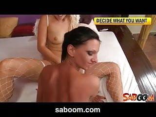 Carla and Destiny two horny sluts