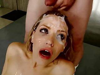 Hot Naked Girls Cumshot - Girl covered in cum, porn - videos.aPornStories.com