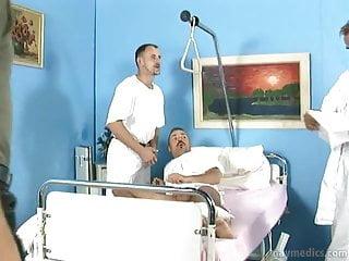 Gay in hospital...
