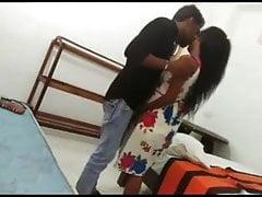 Indian hot girlfriend fucked on hidden camera