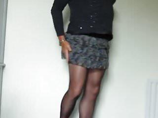 Kim dressed at home