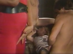 Foursome - Spunk Douche Over Shaggy Poon And Tits