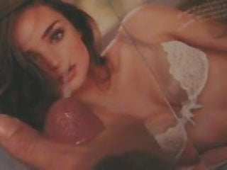 Miranda Kerr tribute facial cum pic