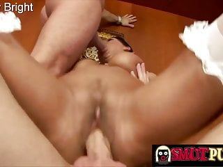 Smut Puppet - Working Two Cocks at Once, Compilation Part 10