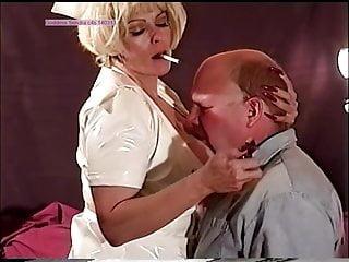 smoking, slapping nurse hard on, 2, preview