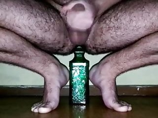 Body put a bottle right in hole...
