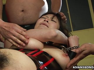Eri Kitahara is moaning whilst taking compelled to cum