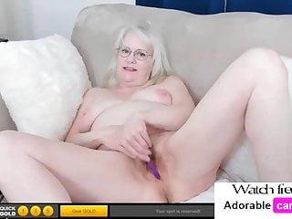 Granny masturbation...