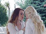 Windy day - lesbian scene with Misha Cross and Lola Tay