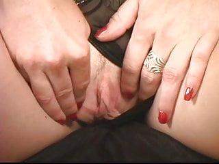 Massive boobed slut spreads her legs then pinches...