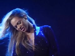 Beyonce Magnificent In Blue