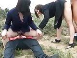 Daphnee and Tara fucked on the beach