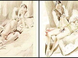 Erotic Watercolors of Feodor Rojankowsky