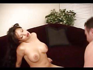 Latin milf big tits fucks great