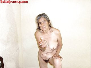 HelloGrannY Selfmade Latin Granny Slideshow Pics
