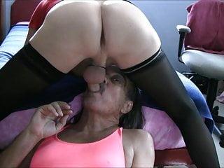 Jamie Deep Throats Transvestite Cock Slut Jenny!