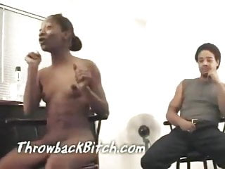 Ass hole naked at pimpin p house before...
