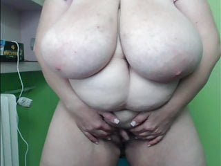 BBW with MONSTER knockers and HIGE clit