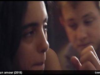 Hafsia herzi garagnon romantic movie scene...