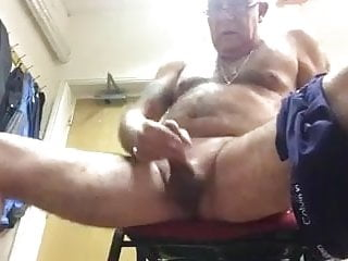 Daddy off job the at jerking