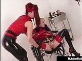 Latex Nurse RubberDoll Disciplines Mental Patient K-La!