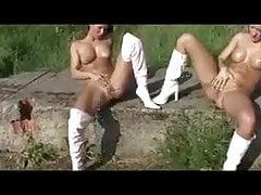 Brounwen1 2 German Amateur Lesbian Selffuck And Peening