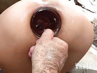 Anal fisting and stretching milf...