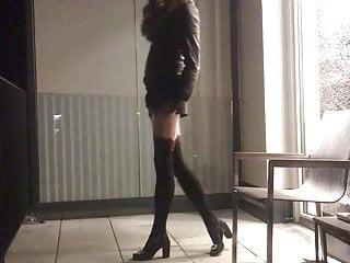 Hot transvestit nadine pracher...