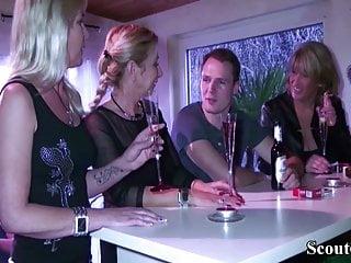 A három német feleség és a jóképű srác