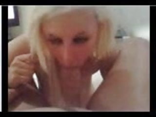 Blonde blowjob...
