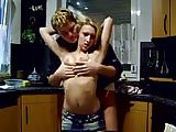 home video-blonde undressed