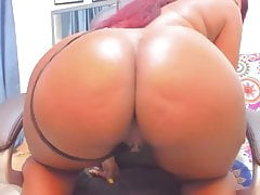 Sofia Colombian Play with her ass