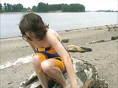Irish Nubile Idaho - On The Beach